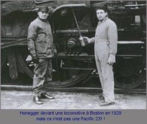 Arthur Honegger with a Train. arthur-honegger.com.