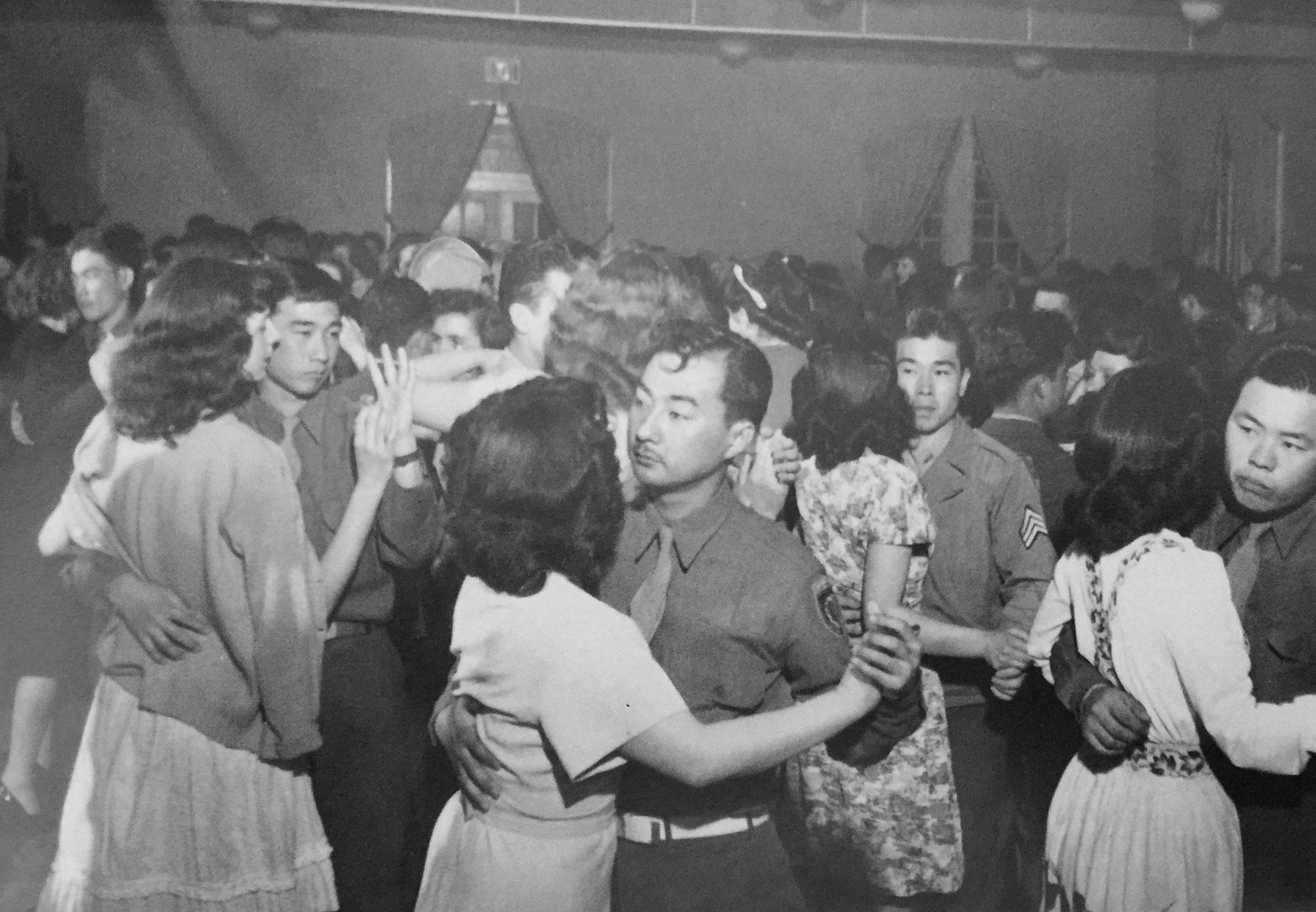 Dance party organized by MILS. Photo courtesy of Bill Doi